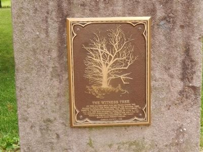 The Witness Tree Marker image. Click for full size.