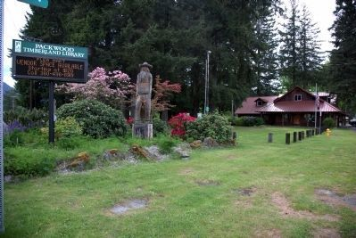 Packwood Timberland Library image. Click for full size.