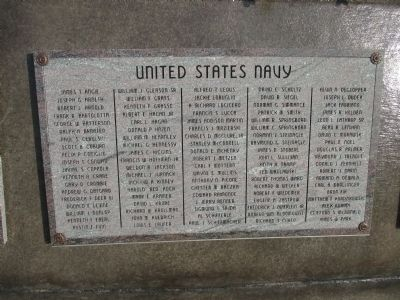 First Group of Names on Outer Wall image. Click for full size.