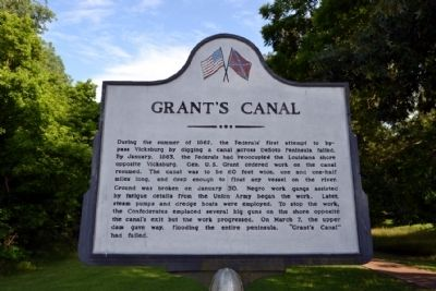 Grant's Canal Marker image. Click for full size.