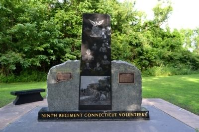 Ninth Regiment Connecticut Volunteers Memorial image. Click for full size.