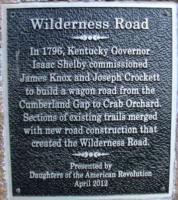 Livingston Trail Head Marker image. Click for full size.