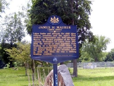James Maurer Marker image. Click for full size.