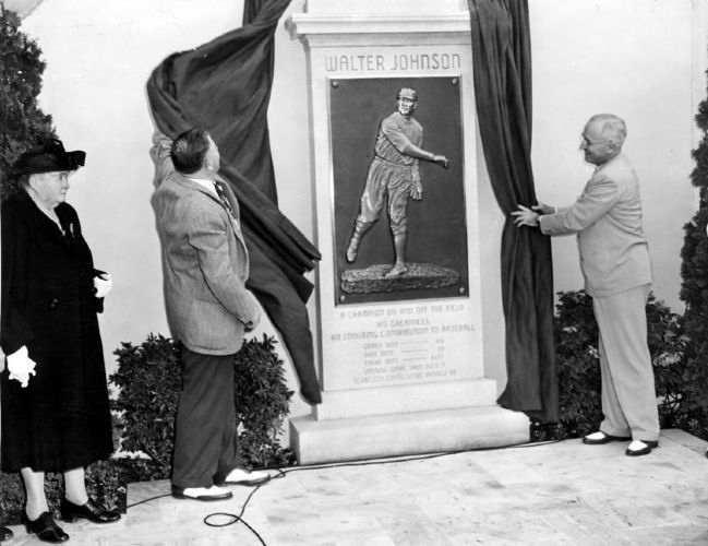 Walter Johnson Monument image. Click for full size.