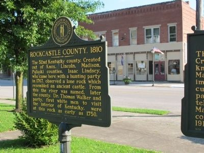 Rockcastle County, 1810 Marker image. Click for full size.