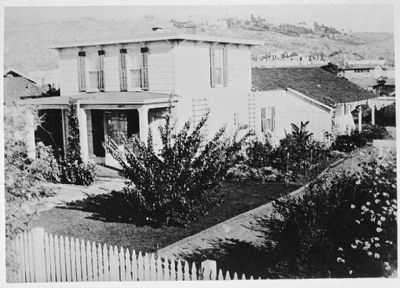 <i>George Derby House, 4017 Harney Street, San Diego, San Diego County, CA</i> image. Click for full size.