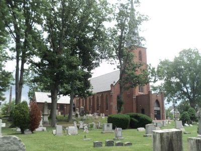 St. Peter's Episcopal Church & Cemetery image. Click for full size.