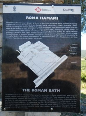 The Roman Bath Marker image. Click for full size.