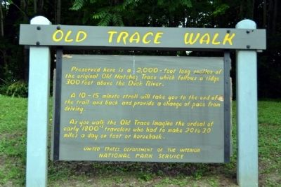 Old Trace Walk Marker image. Click for full size.