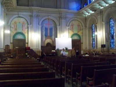 Evangelical Methodist Church Sanctuary image. Click for full size.
