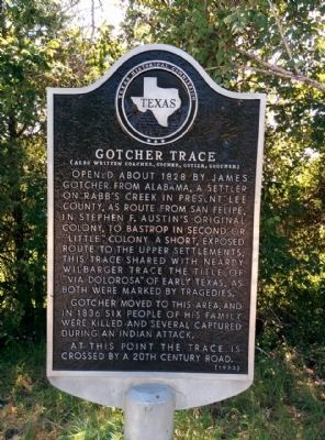 Gotcher Trace Marker image. Click for full size.