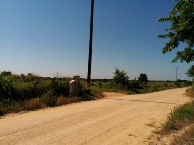 Mission San Ildefonso Marker location, looking south. image. Click for full size.
