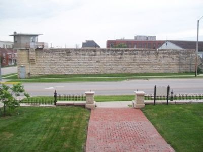 View of Former Missouri State Penitentiary from Warden's House image. Click for full size.