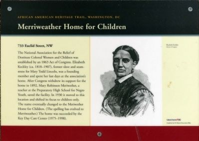 Merriweather Home for Children Marker image. Click for full size.
