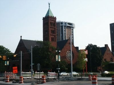 First Congregational Church of Detroit image. Click for full size.