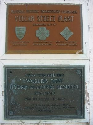 Hydroelectric Central Station Plaques image. Click for full size.