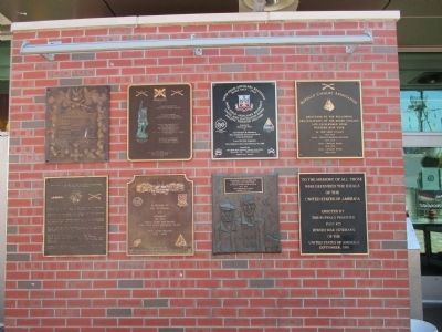 All Plaques on Wall image. Click for full size.