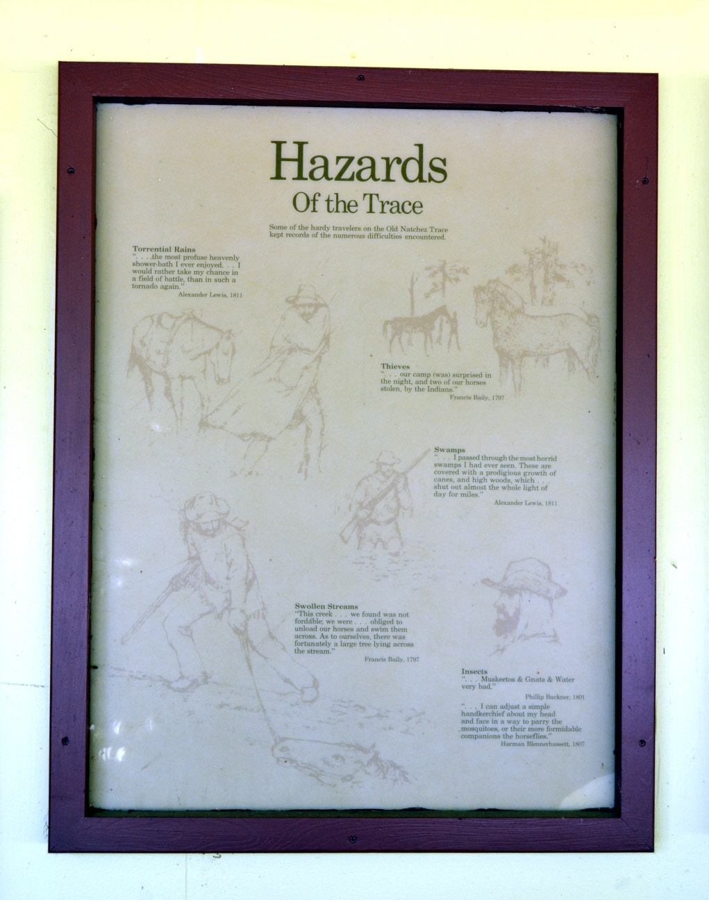 Hazards of the Trace Marker