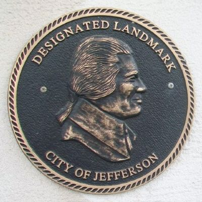 Carnegie Library Landmark Marker image. Click for full size.