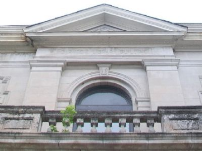 Carnegie Library Detail image. Click for full size.