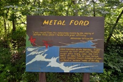 Metal Ford Marker image. Click for full size.