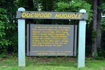 Dogwood Mudhole Marker image. Click for full size.