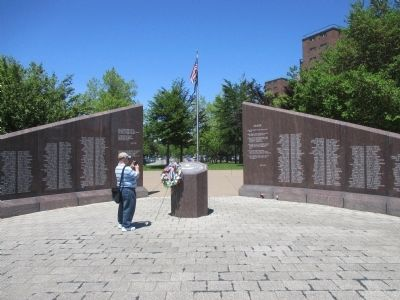 Western New York Vietnam Veterans Monument image. Click for full size.