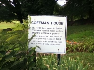 Coffman House Marker image. Click for full size.