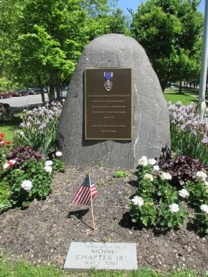 This Purple Heart Memorial Marker image. Click for full size.