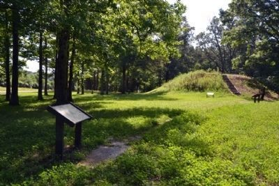 Owl Creek Mound I image. Click for full size.
