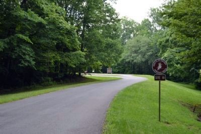 Entrance to Site 10 of the North Alabama Birding Trail image. Click for full size.