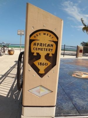 African Cemetery at Higgs Beach image. Click for full size.
