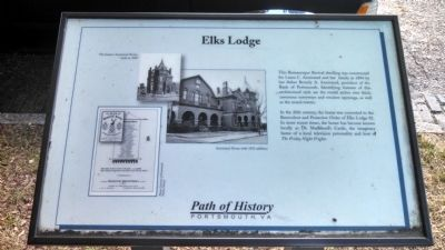 Elks Lodge Marker image. Click for full size.