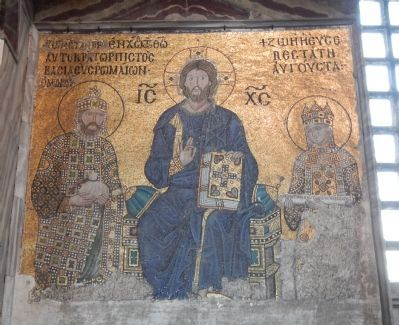Hagia Sophia image. Click for full size.