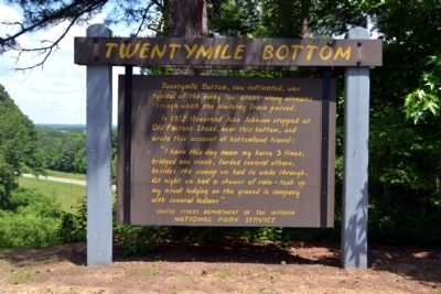 Twentymile Bottom Marker image. Click for full size.