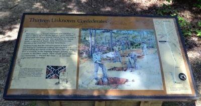 Thirteen Unknown Confederates Marker image. Click for full size.