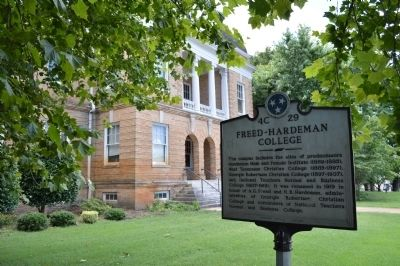 Freed-Hardeman College Marker image. Click for full size.