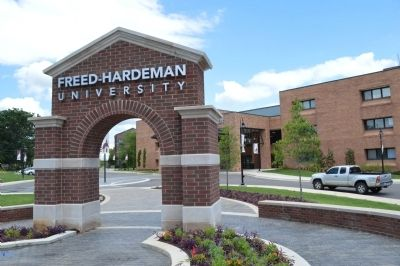 Freed-Hardeman University: Main Entrance image. Click for full size.