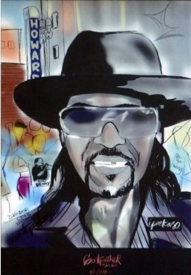 Chuck Brown<br>Godfather of Go Go image. Click for full size.