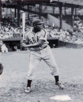 Josh Gibson image. Click for full size.