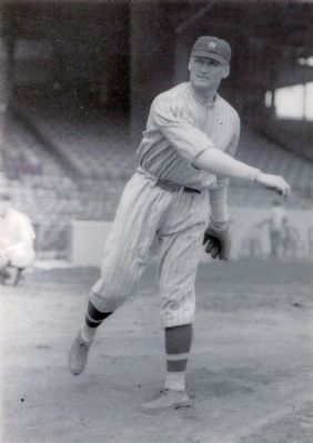 Walter Johnson image. Click for full size.