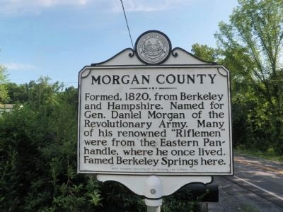 Morgan County Marker image. Click for full size.