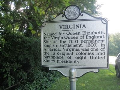 Virginia Marker image. Click for full size.