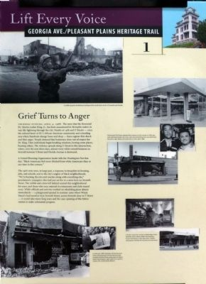 Grief Turns to Anger Marker image. Click for full size.