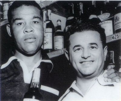 Phil Rosen and Joe Louis image. Click for full size.