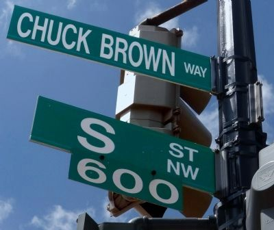 Chuck Brown Way image. Click for full size.