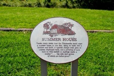 Summer House Info Sign image. Click for full size.