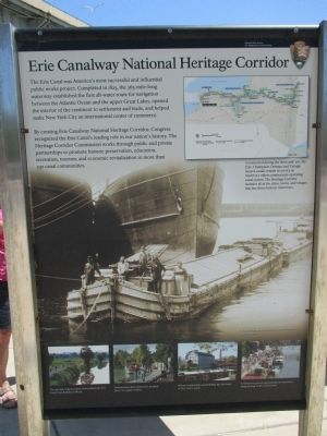 Erie Canalway National Heritage Corridor Marker image. Click for full size.