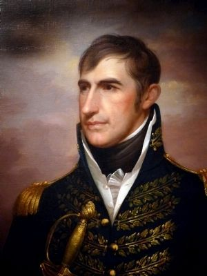General William Henry Harrison image. Click for full size.