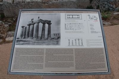 Temple of Apollo Marker image. Click for full size.